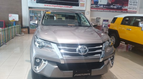 2018 toyota fortuner philippines front view