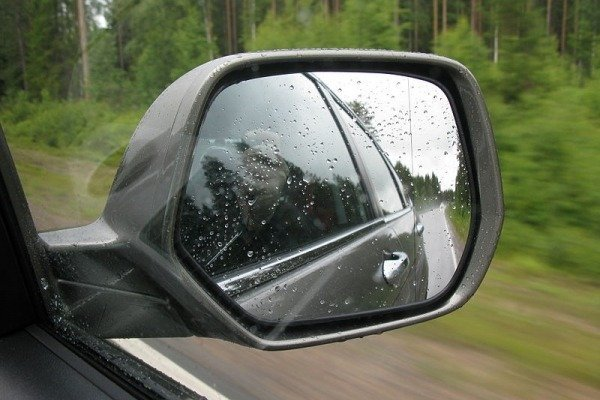 Right rearview mirror