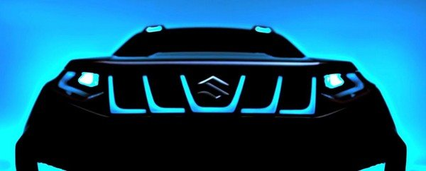 Suzuki city car concept 2018 teaser