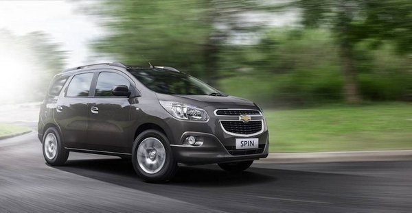 chevrolet spin 2018 philippines on the road