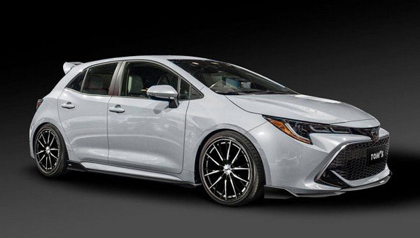Toyota Corolla hatchback tuned by Tom's Racing