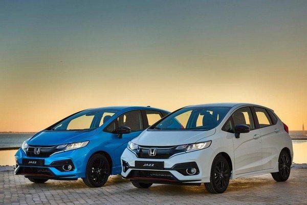 Honda Jazz 2018 facelift variants