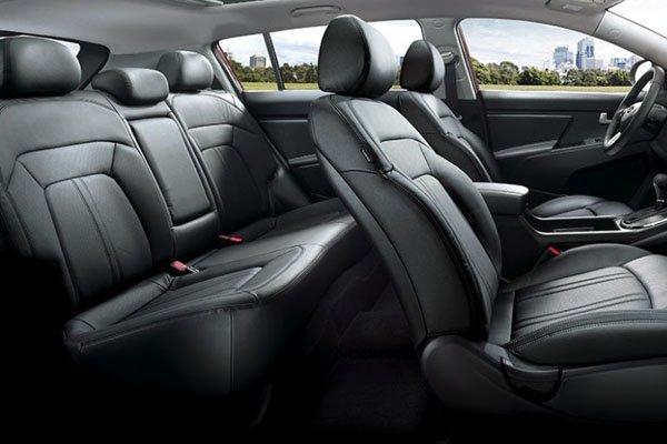a car interior