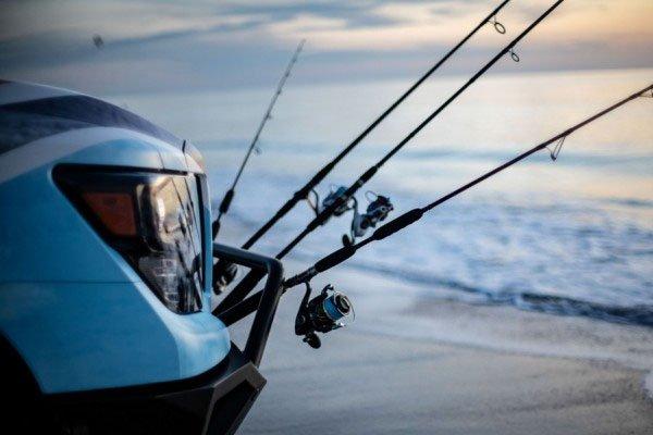 Nissan Titan 2018's fishing pole provisions