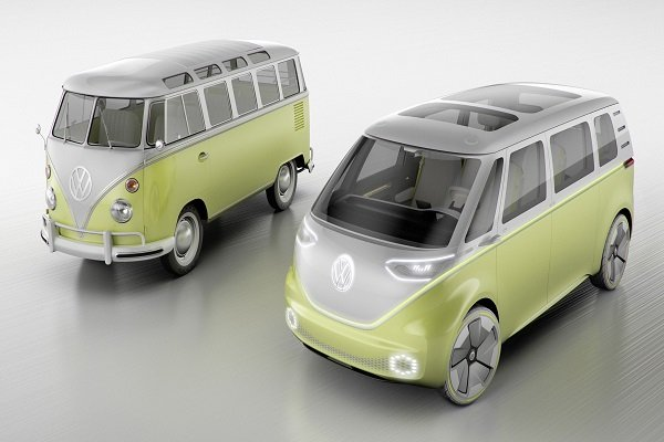 The classic VW Microbus