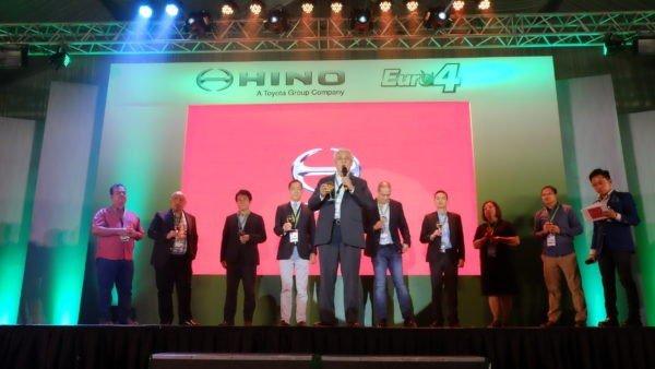Hino launching ceremony