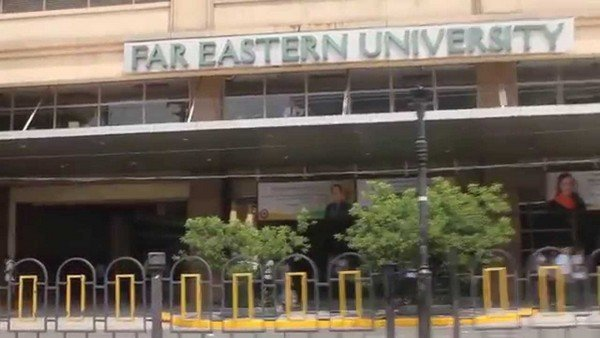 Far Eastern University haunted place in the Philippines