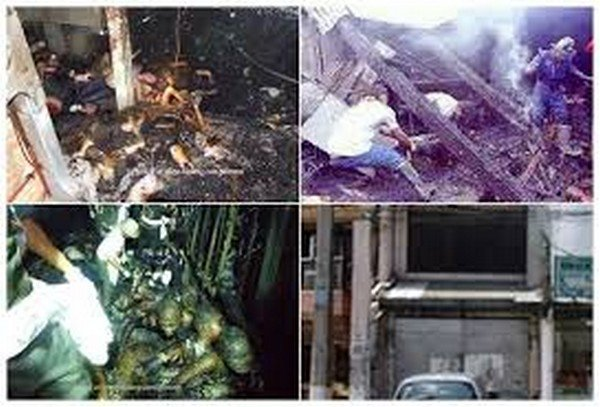 captures of Ozone Disco tragedy - a haunted place in the Philippines