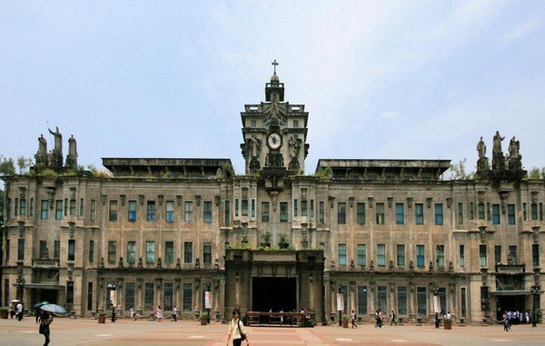 University of Santo Tomas building - a haunted place in the philippines