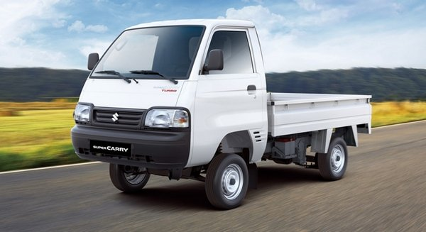 suzuki super carry 2018 on the road