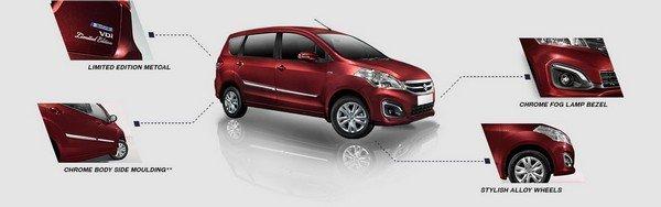Suzuki Ertiga 2018 limited edition