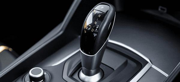 Torque converter gearbox gearshift
