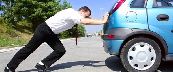 Car push