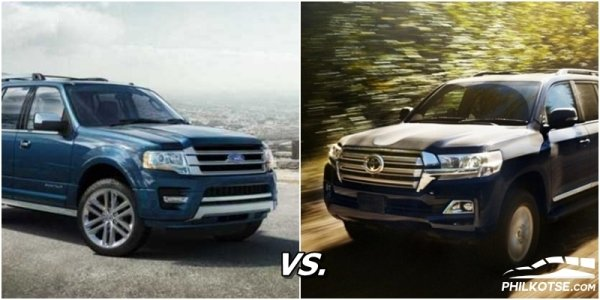 ford expedition vs toyota land cruiser