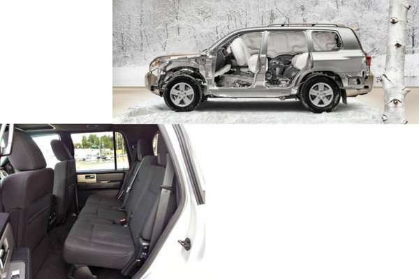 ford expedition vs toyota land cruiser safety features