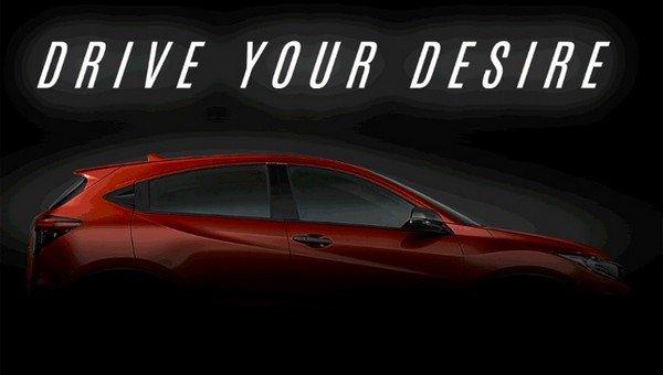Honda HR-V 2018 facelift poster