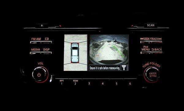 Nissan Navara VL Plus 2018 cameras