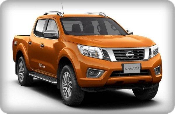 Nissan Navara VL Plus 2018 angular front