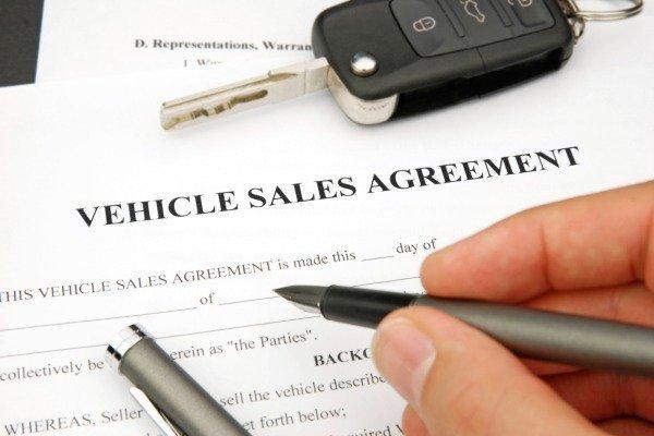 Car deed of sale