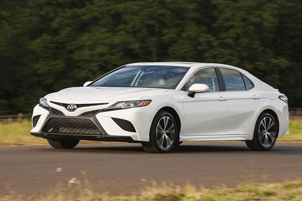 2018 Camry in white