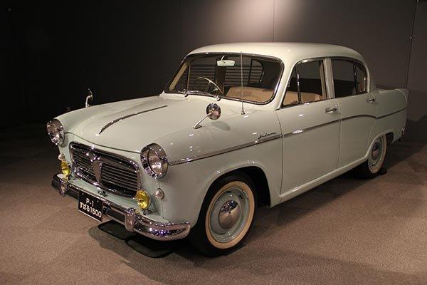 Subaru's 1st ever car