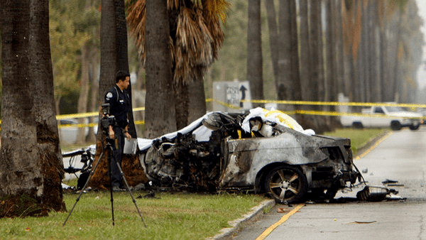 Michael Hastings' accident costing his life