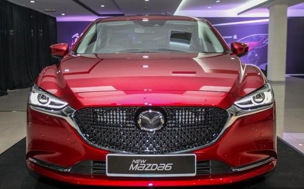 Mazda 6 2018 facelift front view