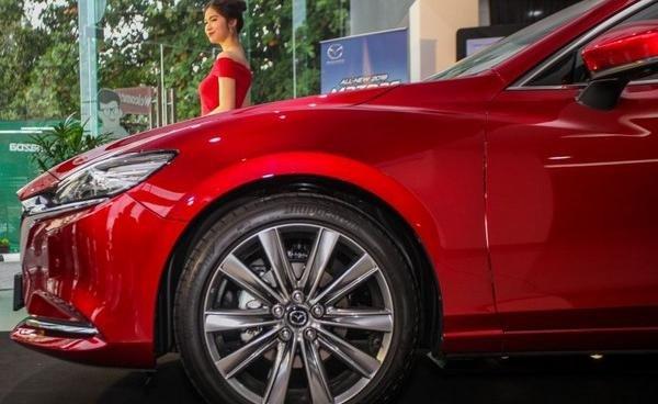 Mazda 6 2018 facelift wheel