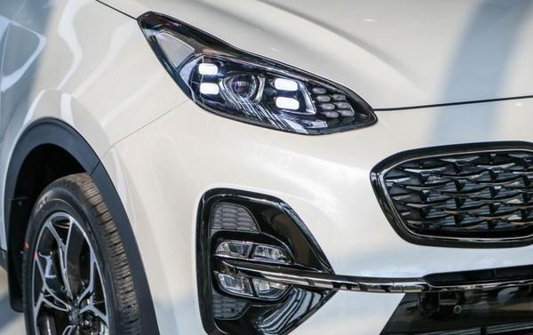 Kia Sportage 2018 facelift haedlamp