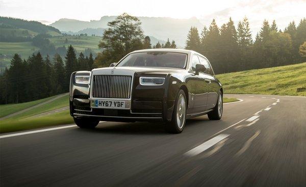 angular front of the Rolls-Royce Phantom