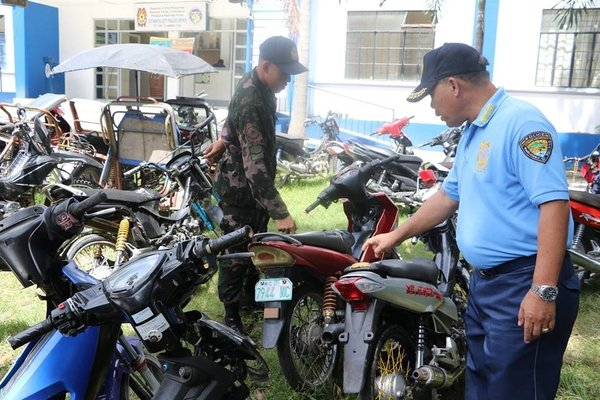 impounded vehicles by the LTO