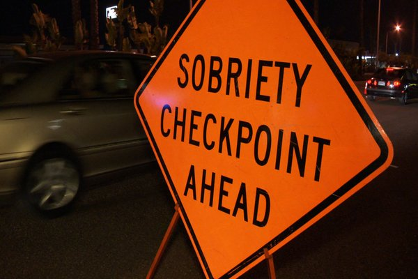 sobriety test checkpoint