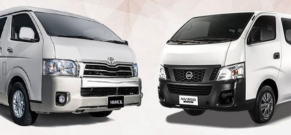 nissan urvan nv350 vs toyota commuter