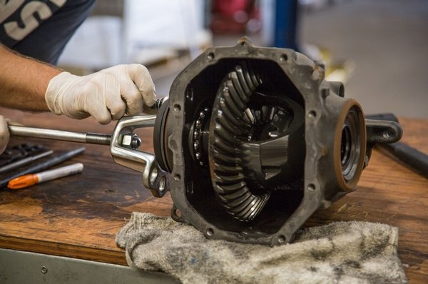 car limited slip differential