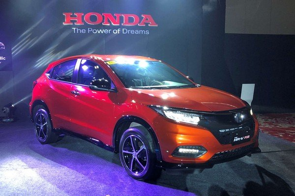 Honda HR-V 2018 facelift angular front