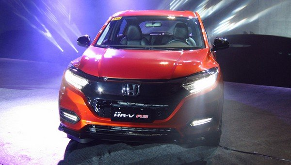 Honda HR-V 2018 facelift front view