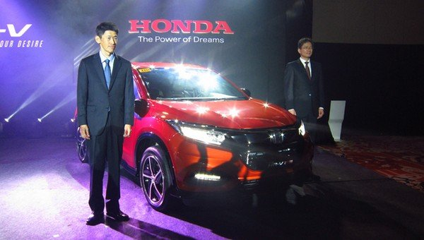 Honda HR-V 2018 facelift at the launch event