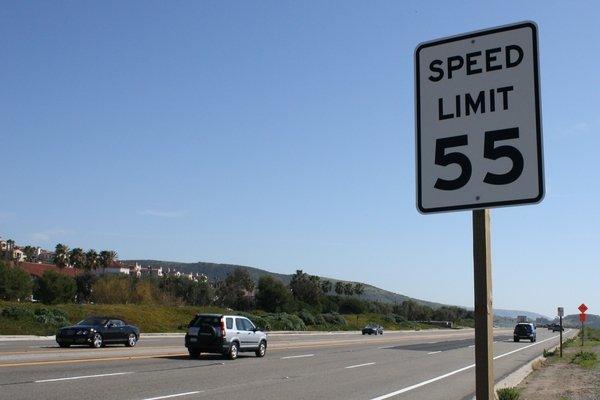 Speed linit sign