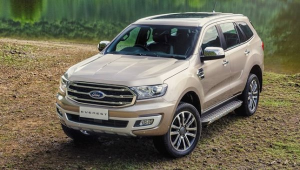 Ford Everest 2019 exterior