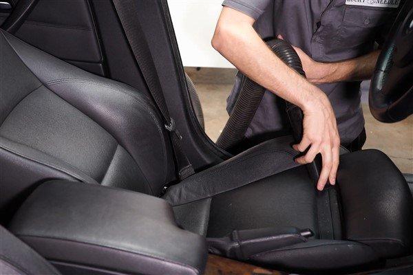 vacuum leather seat