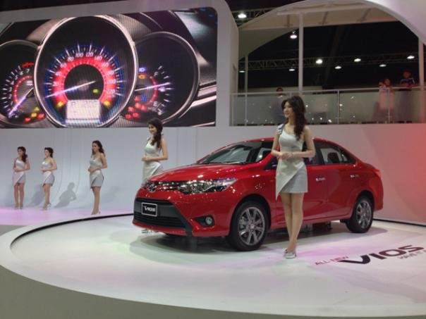 Toyota Vios 2018 at its launch event