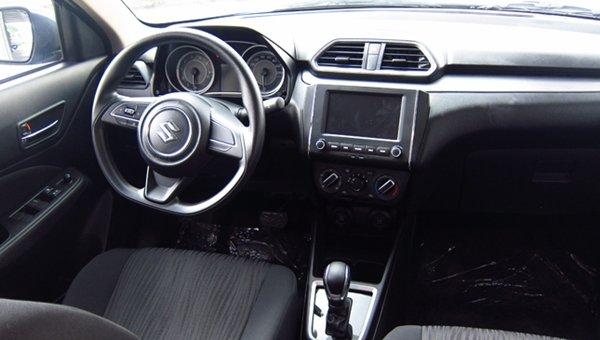 2018 Suzuki Dzire Interior: Front seats