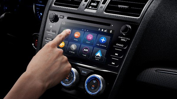 Subaru Levorg 2018 dashboard