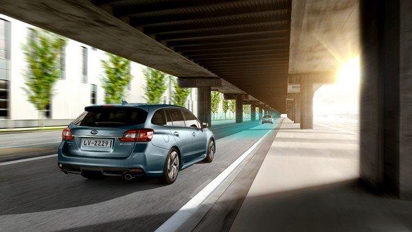 Subaru Levorg 2018 on the road