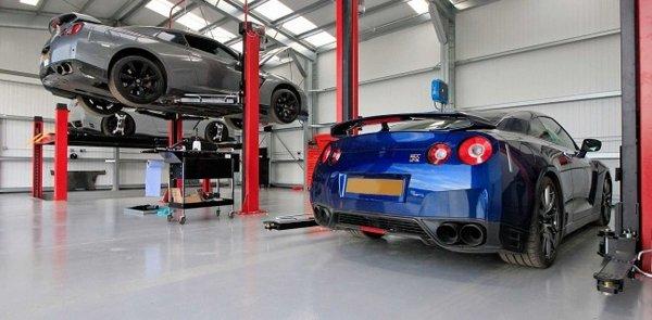 a car maintenance service