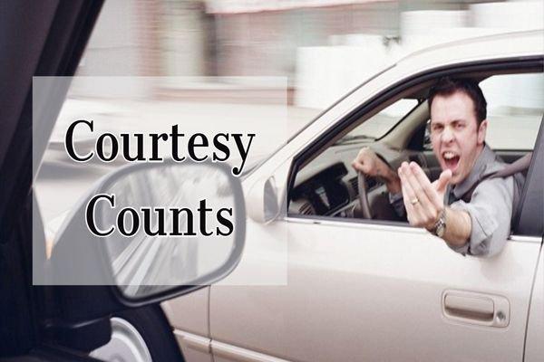 road courtesies we should all practice