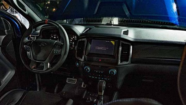 Ford Ranger Raptor 2019 Philippines at local launch - dashboard