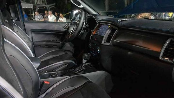 Ford Ranger Raptor 2019 Philippines at local launch - front seats