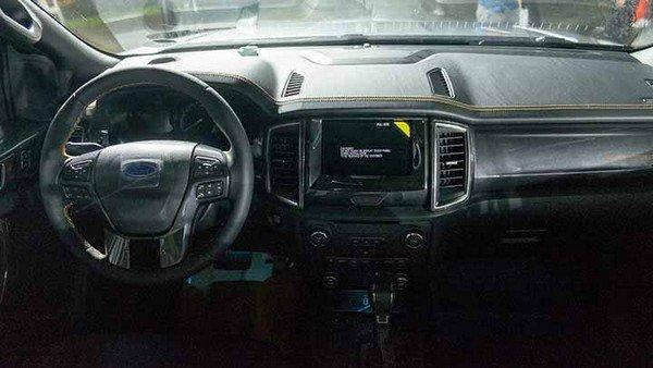 Ford Ranger 2018 dashboard area