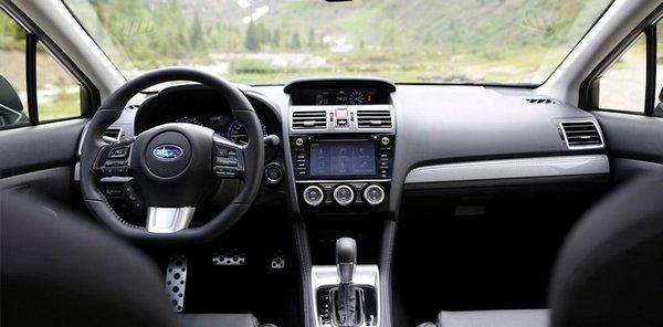 Subaru Levorg GT-S 2018 Philippines dashboard